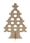 'Stand Up' Gingerbread Man Tree